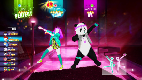 Even a Ke$ha song is redeemed by Just Dance 2014's great online mode.