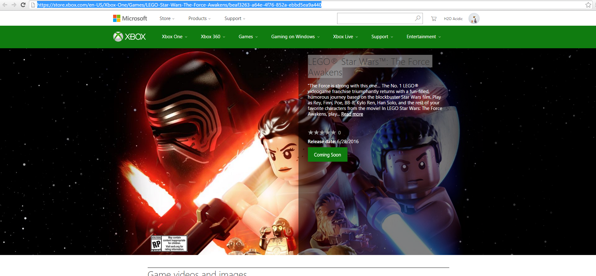 prochain star wars xbox one